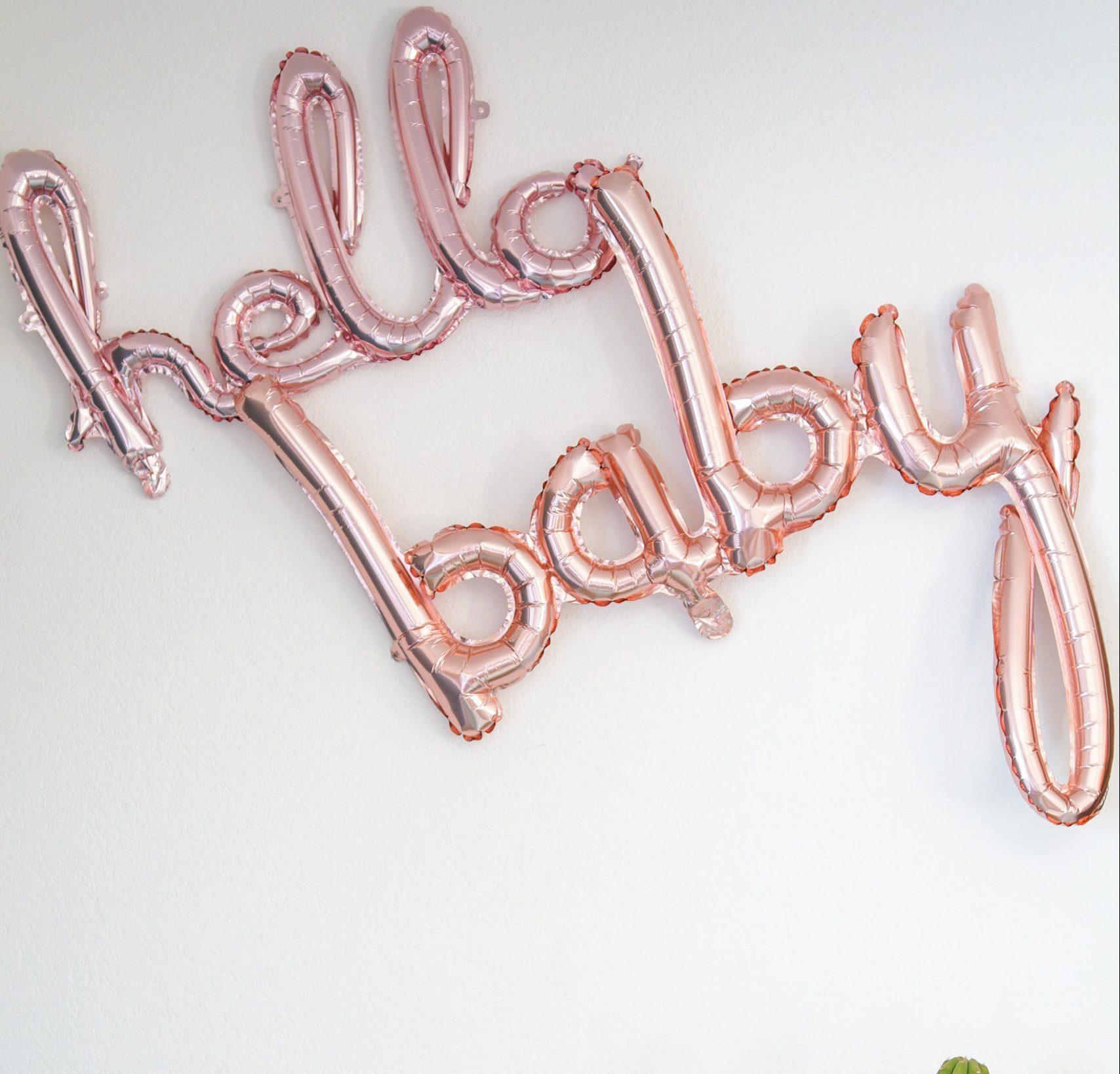 Näin järjestät onnistuneet babyshowerit eli vauvakutsut