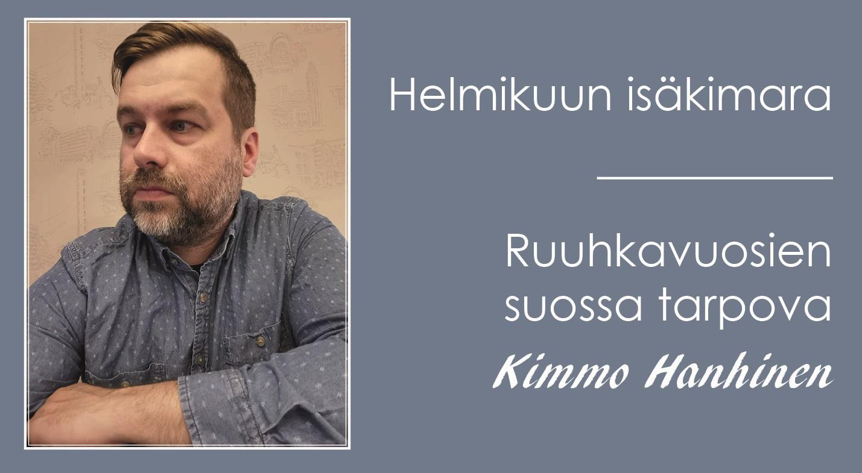Isävieraana Kimmo Hanhinen