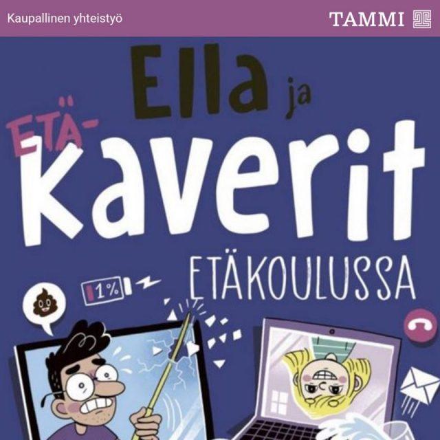 Kirjaesittelyssä Ella ja kaverit etäkoulussa: Me selviämme yhdessä!