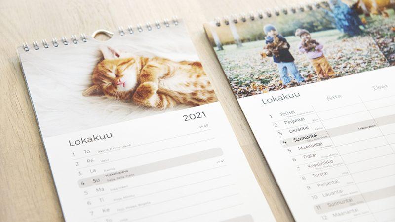 Perhekalenterista apua arjen pyöritykseen