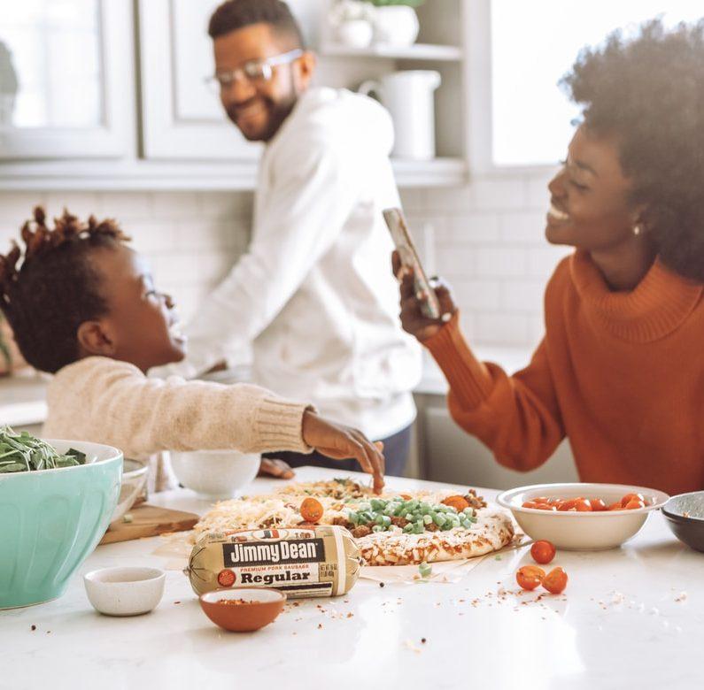Ruoka-aika: tärkeä yhdessäolon hetki
