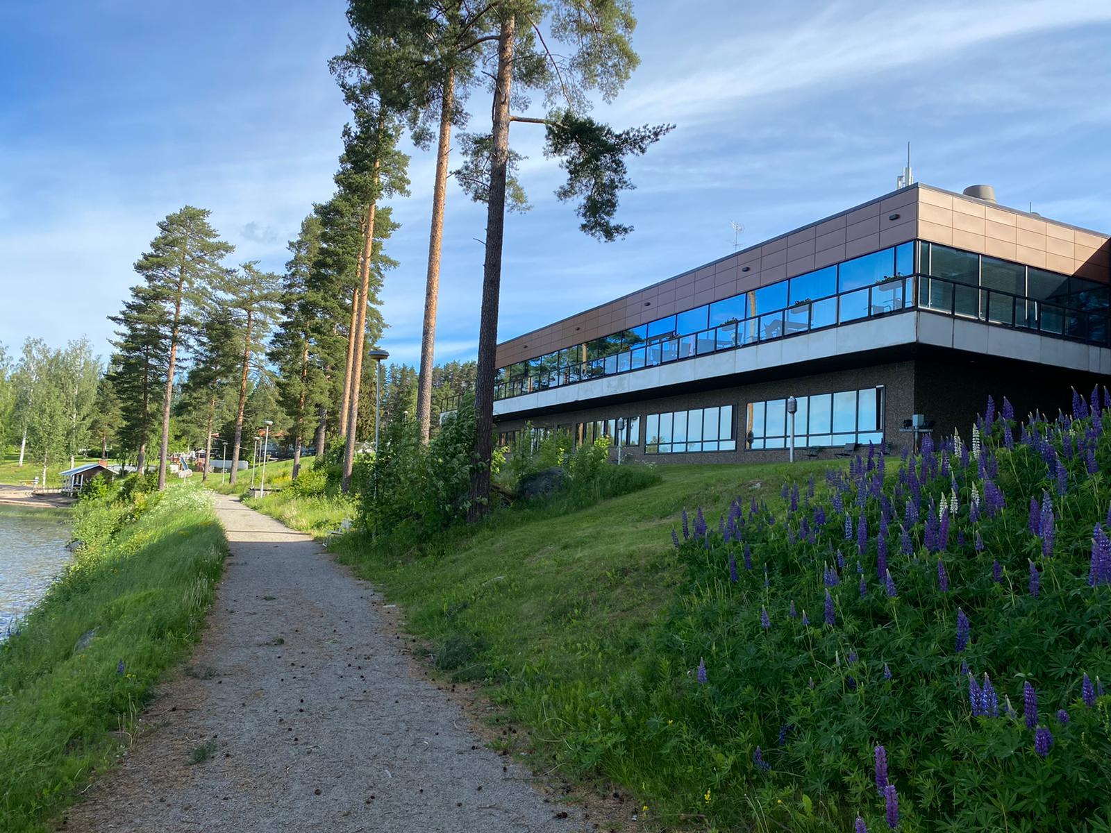 Suomen pisin vesiliukumäki ja paljon muuta, kylpylähotelli Peurunka