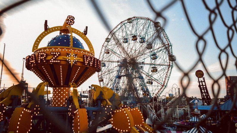 assorted-color Ferris' Wheel